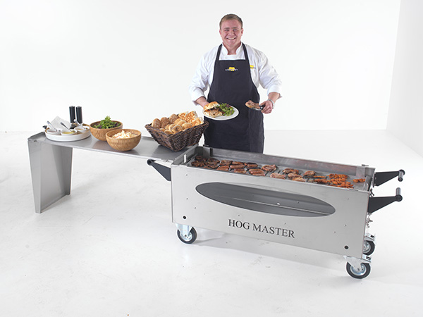 Picture 4 Hogmaster Glass BBQ Table Food Chef -TF-small