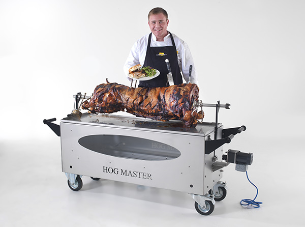 Picture 5 Hogmaster Glass Spit Pig Food Chef  -TF -small